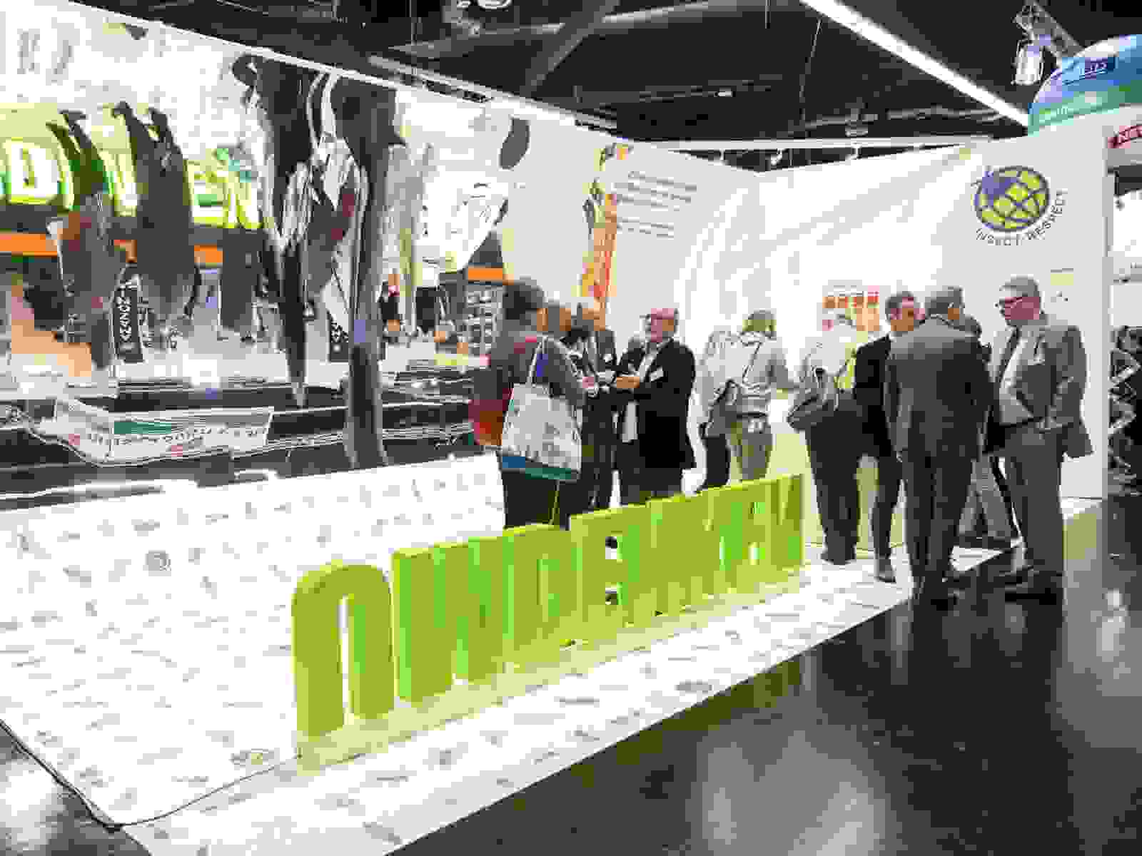 Messestand BioFach 2019 von Insect Respect