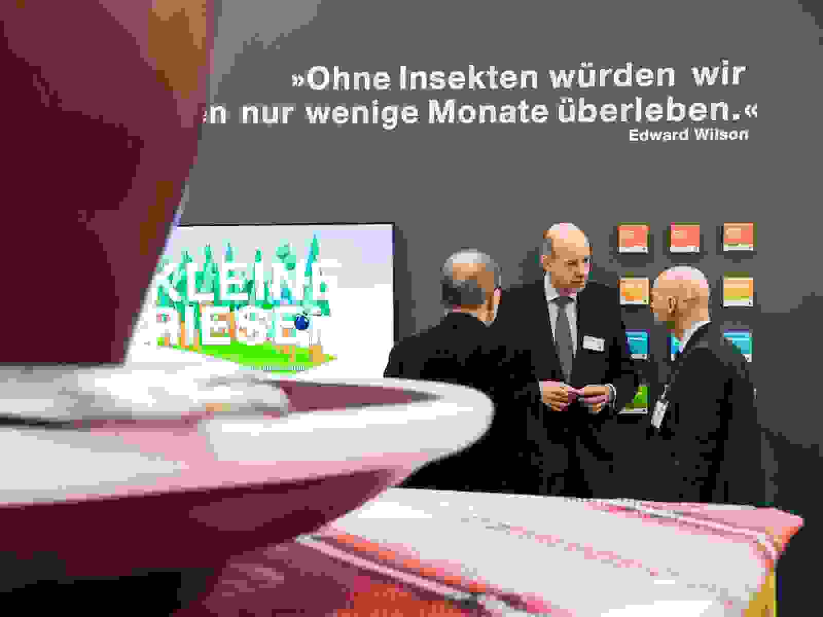Messestand BioFach 2017 von Insect Respect